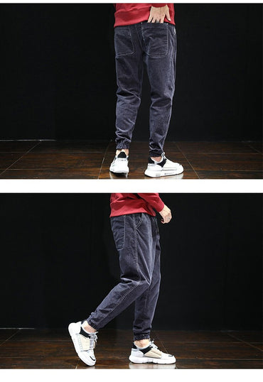 Super Cool Fashion Men Loose Fit Harem Corduroy Casual Joggers Pants