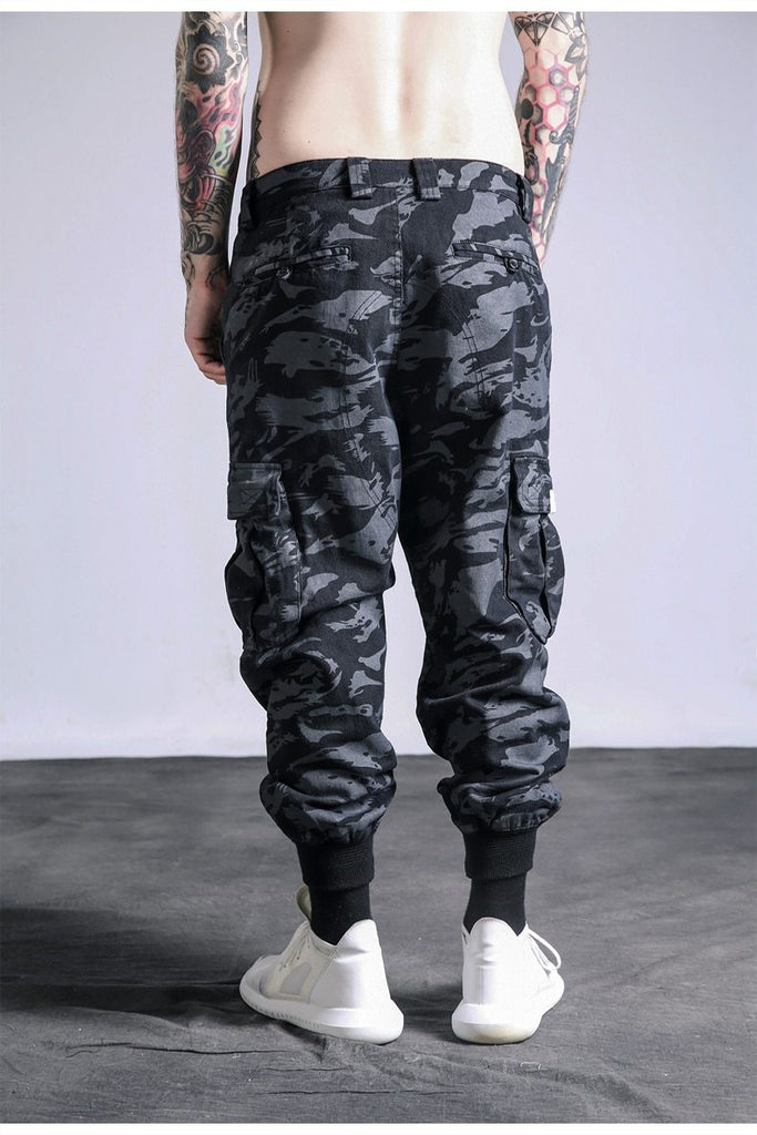New Fashion Camouflage Street Military Pockets Men Cargo Pants