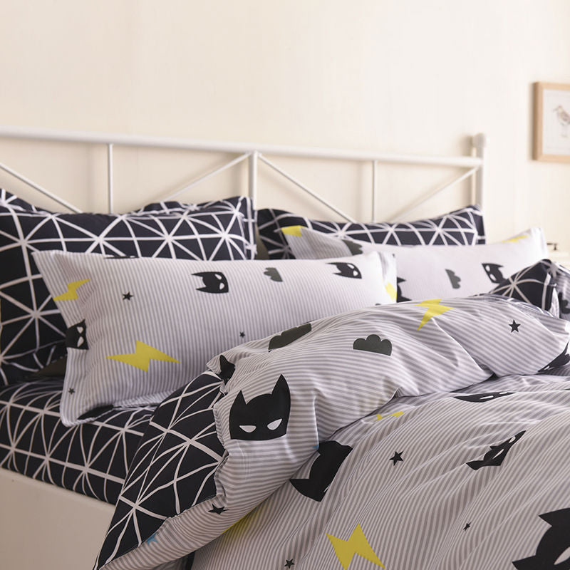 Batman Mask Premium Quality Bedding Set