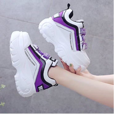 Women Fashion Sneakers Top Brand Design Casual Shoes