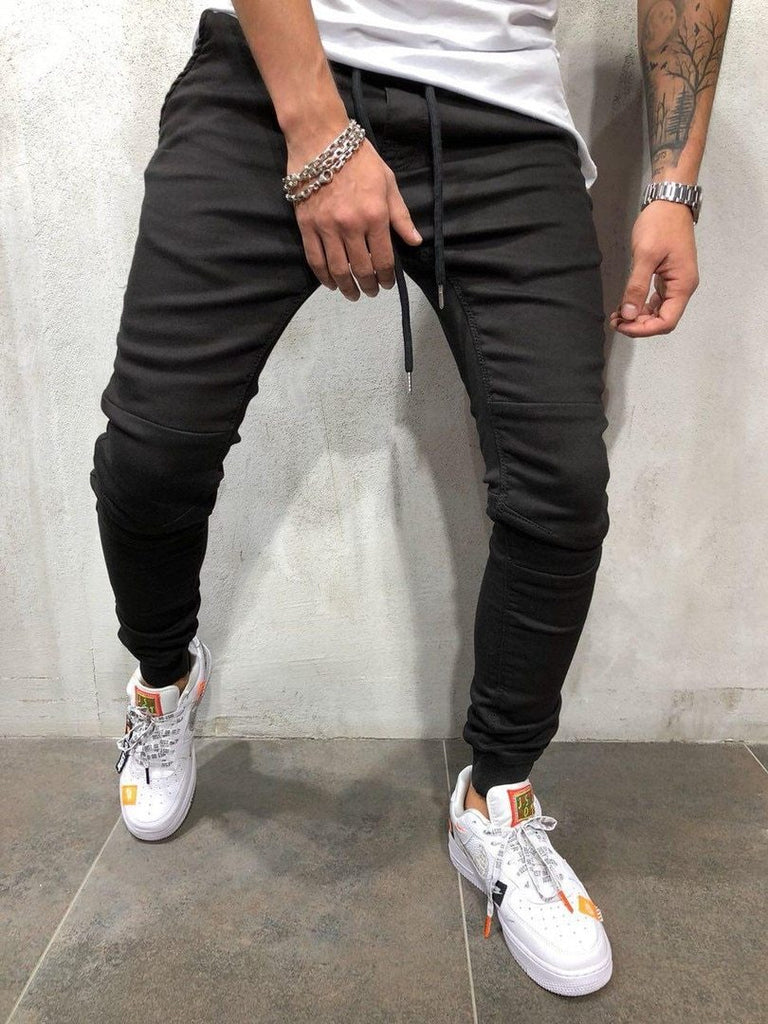 New Arrival Men's Fashion Slim Comfortable Casual Pencil Pants
