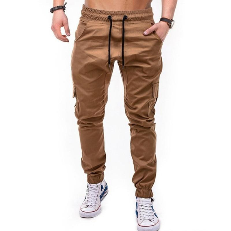Men Pants Athletic Light Quick Dry Slacks Military Training Tactical Pants