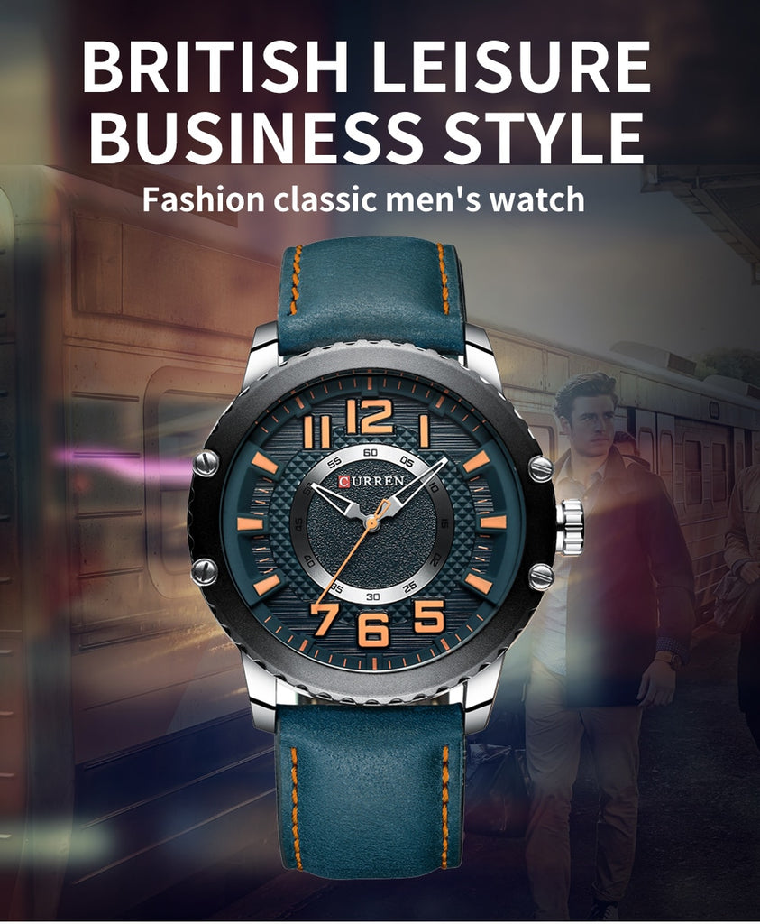 Limited Edition Men Luxury Business Quartz Wristwatches