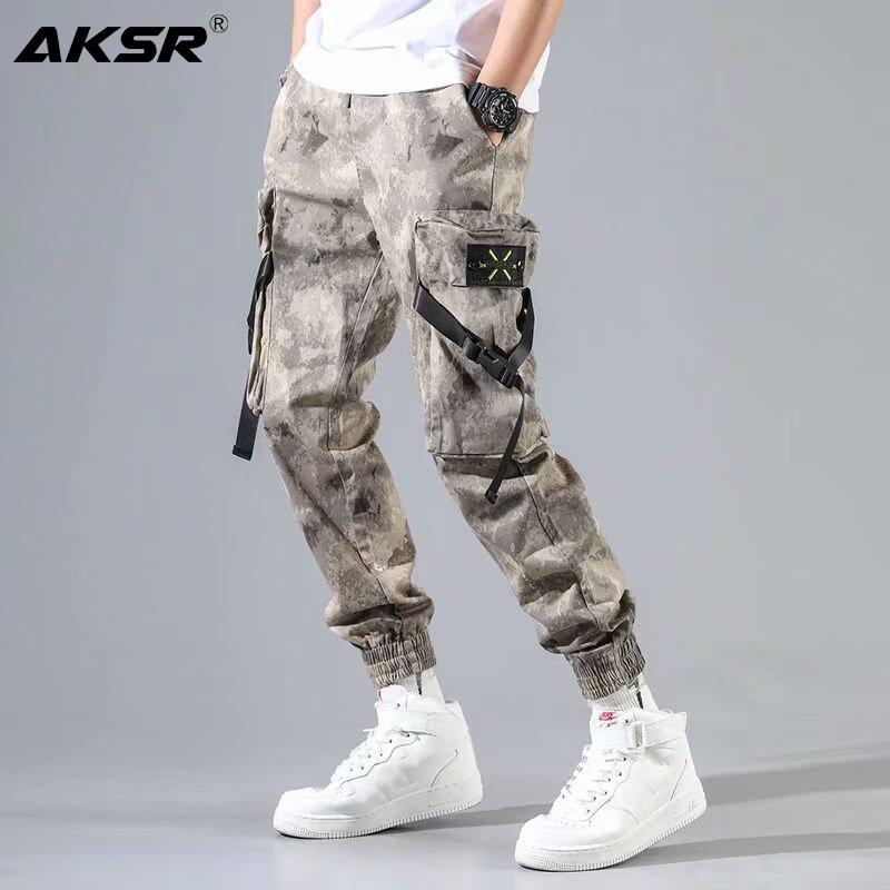 Best Seller Men Streetwear Hip Hop Tactical Cargo Harem Pants
