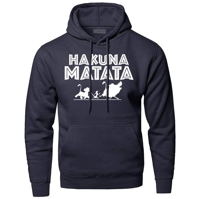 Men Hoodies The Lion King Hakuna Matata Sportswear Hoodies