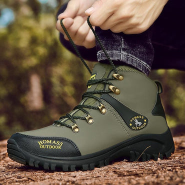 Men Waterproof Boots Breathable Tactical Army Style Non-slip Top Quality Hiking Boots