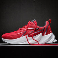 Men Sneakers Breathable Comfortable Shark Bottom Sports Shoes Fashion Light