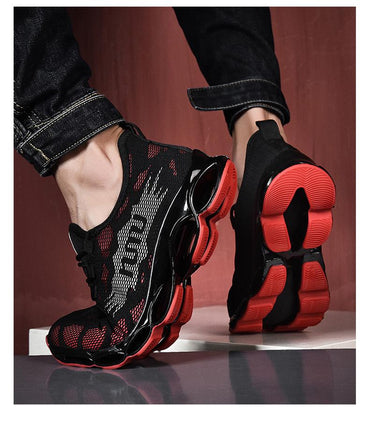 Men's Sneakers Comfortable Non-Slip Damping Blade Casual Shoes