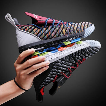 Limited Edition Men Sneakers Flyknit Breathable Cushioning Basketball Sport Shoes