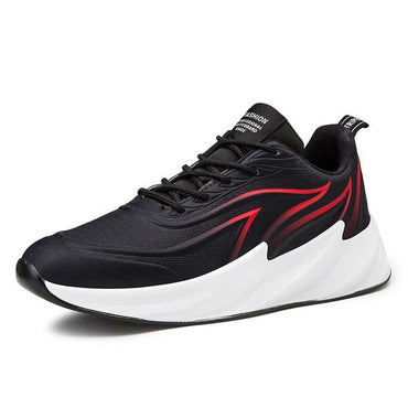 Men sneakers limited edition breathable shark flame blade anti-skid sport shoes