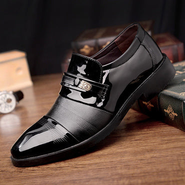 Men Dress Shoes High Quality  Leather Luxury Fashion Comfortable Oxford Shoes