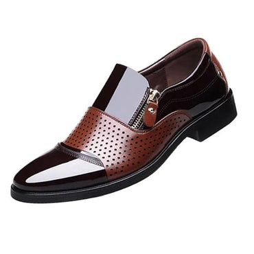 Men Dress Shoes England Style Fashion Design Top Quality Leather