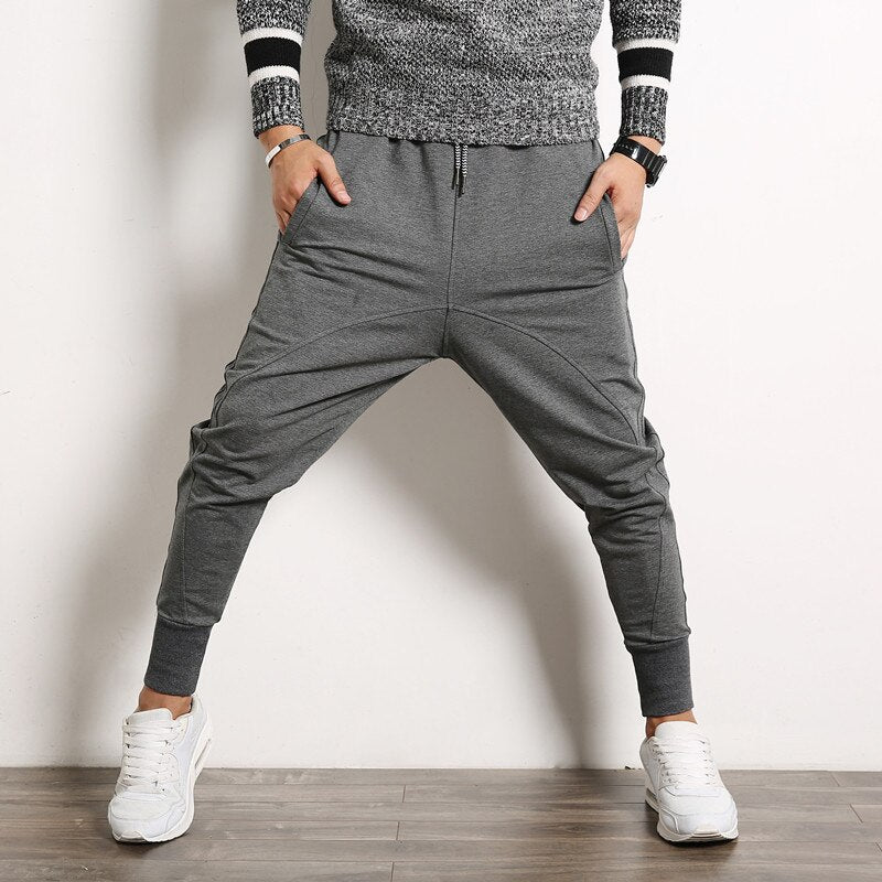 Men Street Fashion Hip Hop Harem Pants