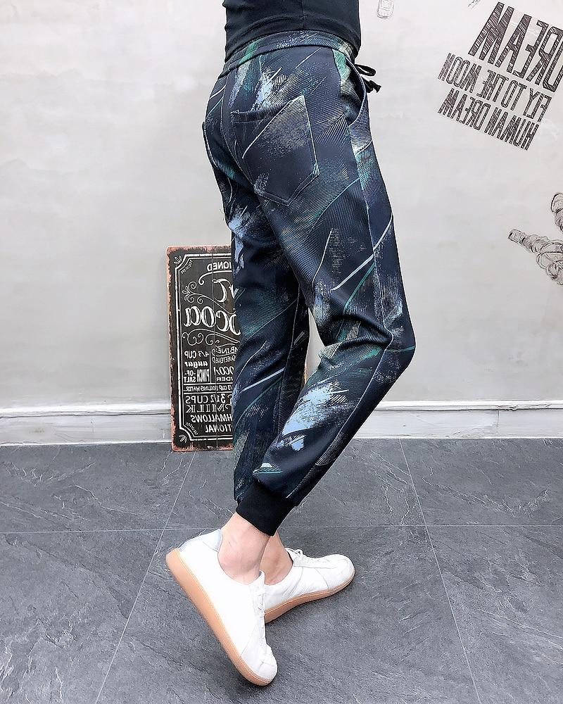 Hot Fashion Men Jogger Pants Streetwear Hip Hop New Pattern Casual Pants