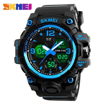 Fashion Men LED Bright Digital Waterproof Watches