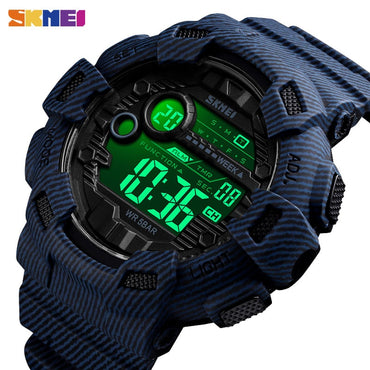 Sport Style Men Waterproof Multifunction Digital Watches