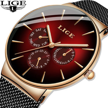 New Fashion Men Watches Top Brand Luxury Quartz Watches