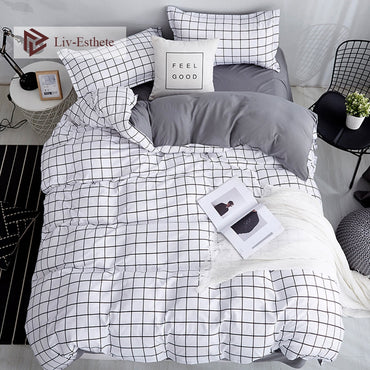 Classic Fashion Soft Linen Bedding Set