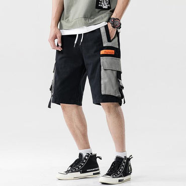 Fashion Style Men Streetwear Cargo Shorts