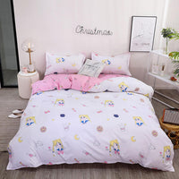 Lovely Design Soft Duvet Bedding Set