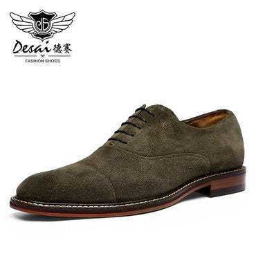 Hot Selling Men England Style Suede Leather Oxford Shoes