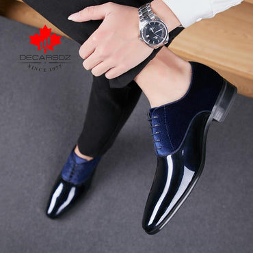 Hot Selling Men Suede Fashion Design Leather Formal Dress Shoes