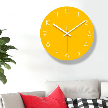 Creative Frameless Silent Nordic Decorative Wall Clock