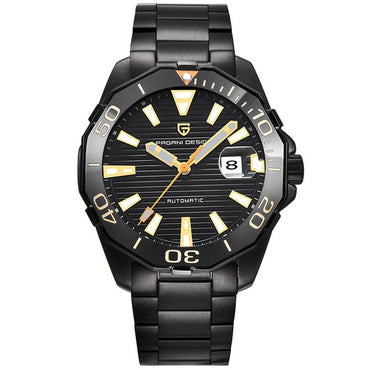 Cool Fashion Men Premium Mechanical Waterproof Stainless Steel Watches
