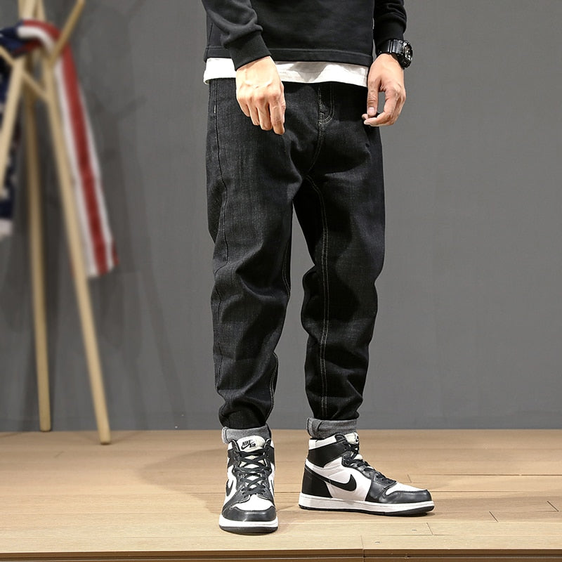 Men Fashion Streetwear Hip Hop Jeans
