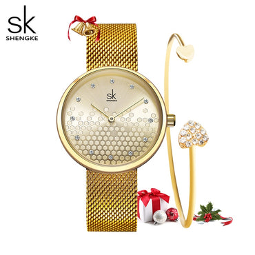Women Luxury Design Waterproof Wristwatch