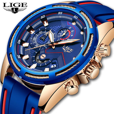 Men Fashion Top Brand Luxury Waterproof Business Quartz Watch