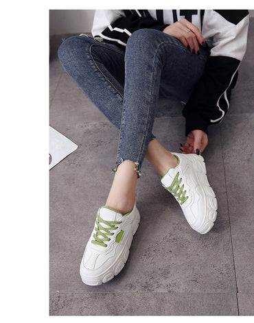 Women Sneakers Solf Air Mesh Breathable Trendy Casual Shoes