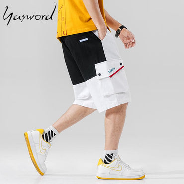 Men Vintage Fashion High Quality Cargo Shorts