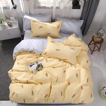 Reactive Printing Fashion Design High Quality Bedding Set