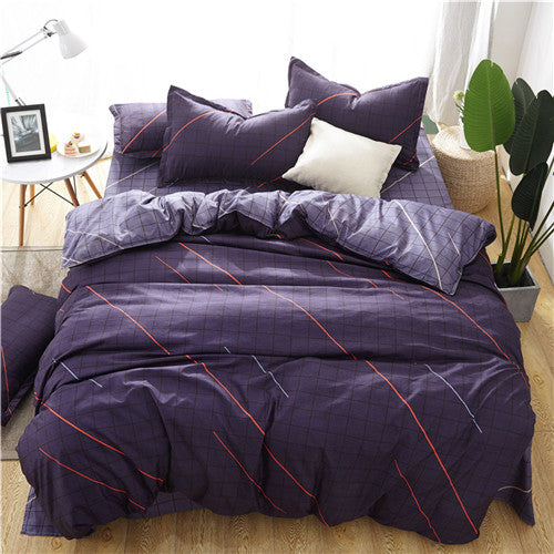 American Style High Quality Linens Duvet Cover Bedding Set
