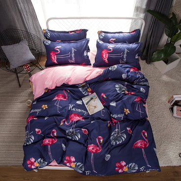 Premium Linen Fashion Design Bedding Set