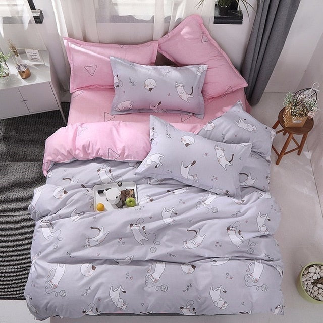 Luxury Modern Design Comfortable Linen Bedding Sets
