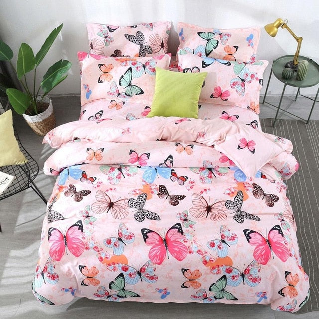 Tropical Plant Duvet Cover Bed Sheets And Pillowcases
