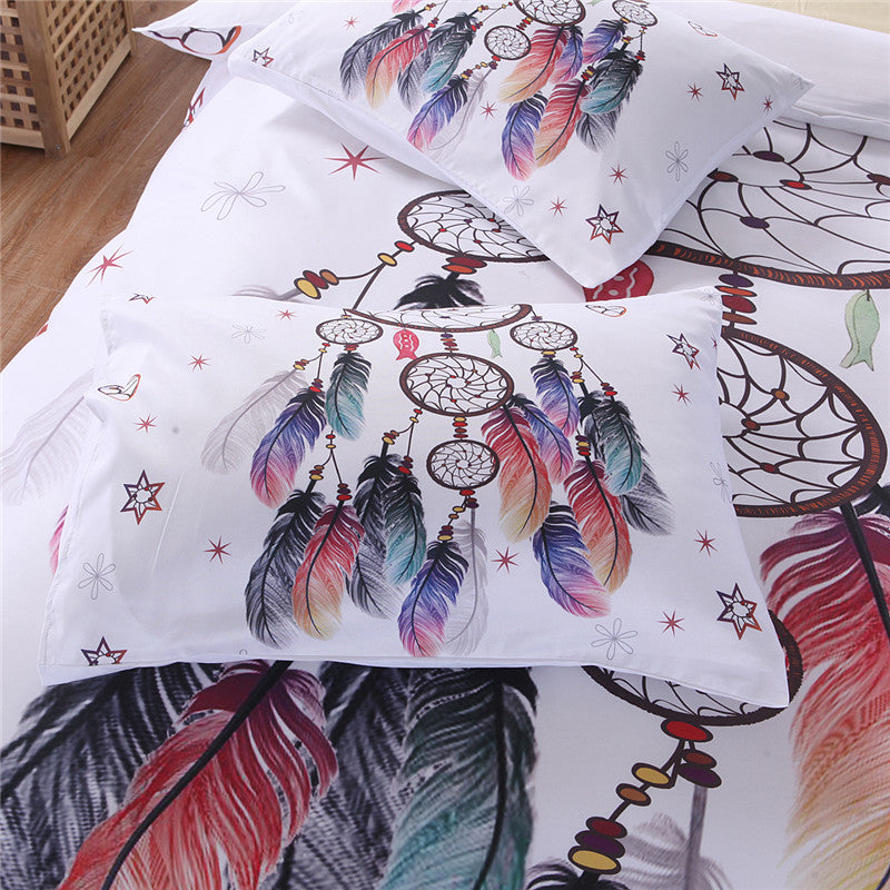 Dream Catcher Linen Duvet Bedding Set