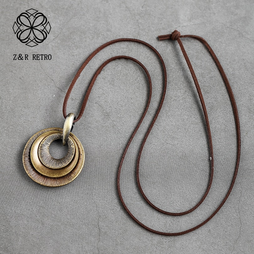 New Fashion Women Zinc Alloy Long Necklace