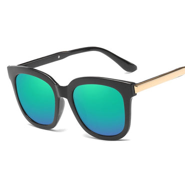 Women Fashion Coating Mirror UV400 Sunglasses
