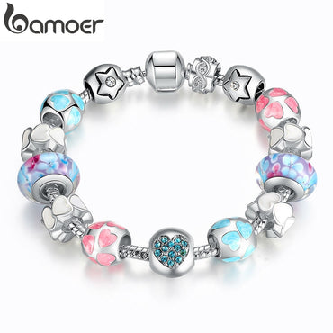 Colorful Love Beads Women Bracelet