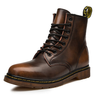 Fashion Design Men Genuine Leather Martin Boots