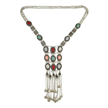 Women Bohemia Long Tassel Pendant