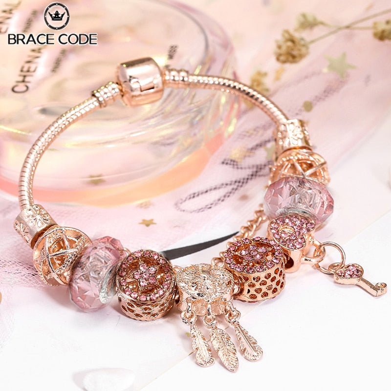 Women Dreamcatcher Charm Bracelets