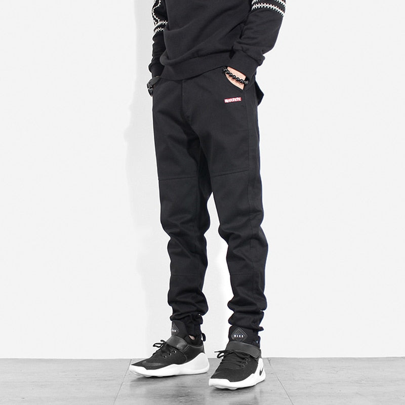 Men Slack Bottom Streetwear Jogger Jean