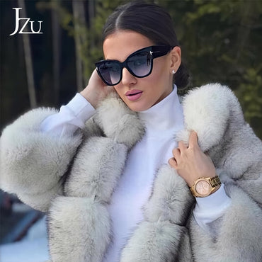 Fashion Brand Designer Women Luxury Cat Eye Sunglasses