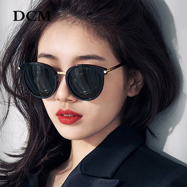 Vintage Fashion Women Mirror Lens Shades UV400 Sunglasses