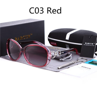 Luxury Fashion Women Vintage Polarized Sunglasses