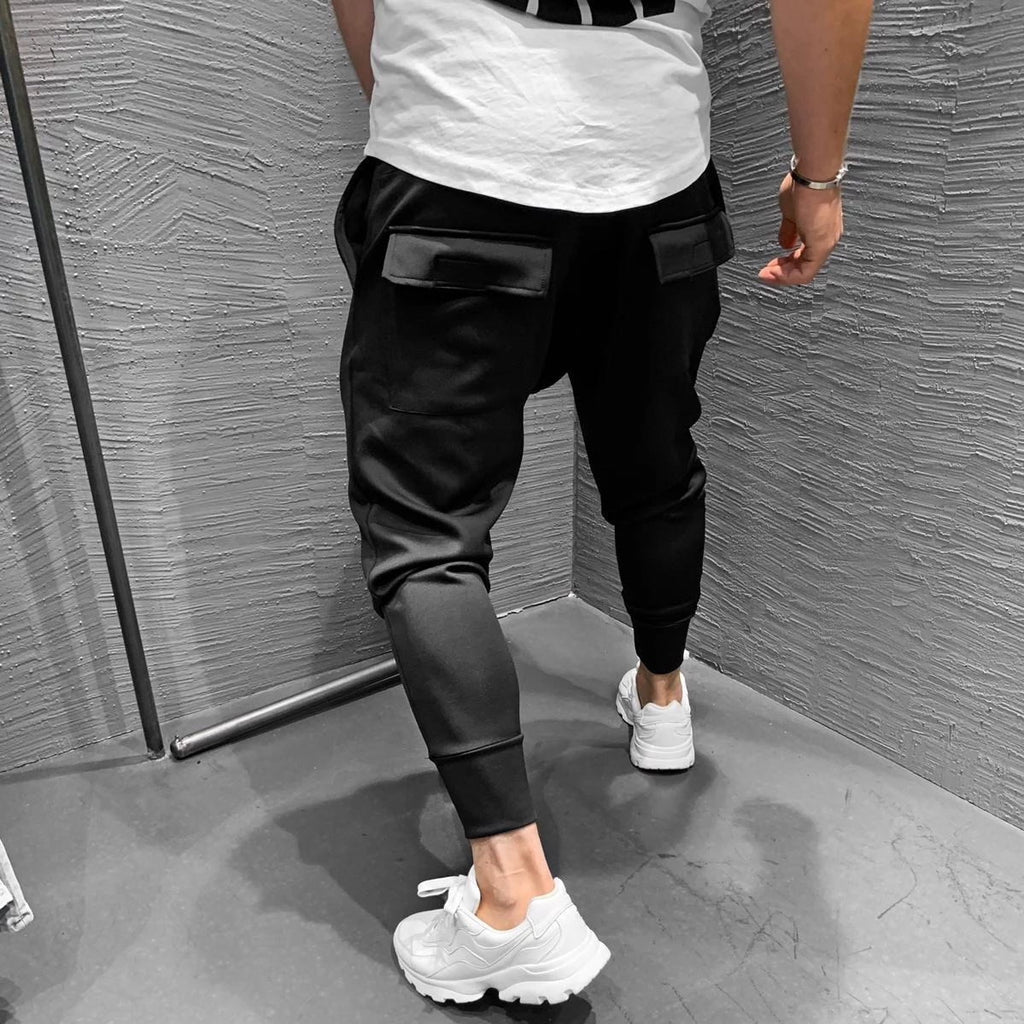 Men Casual Slim Stretch Jogger Pants